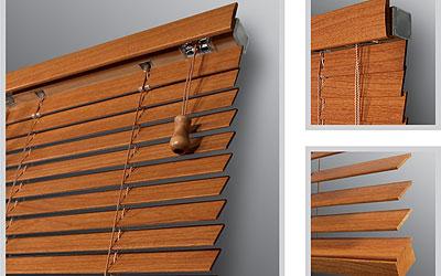 Dřevěné žaluzie 25