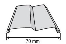 Žaluzie - profil Z-70