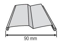 Žaluzie - profil Z-90