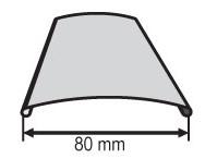 Žaluzie - profil C-80